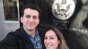 Raquel now has a 10-year visa for the USA