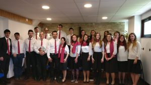 Our choir for the Easter cantata